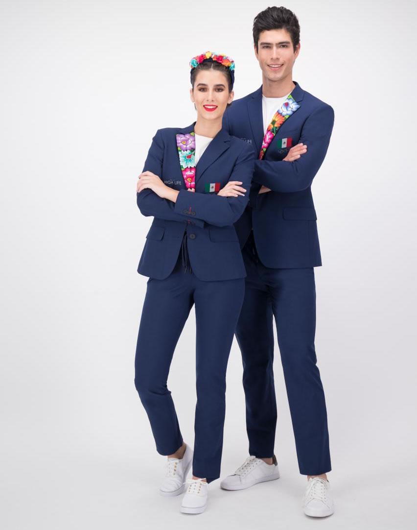 Dan a conocer el uniforme olímpico de México