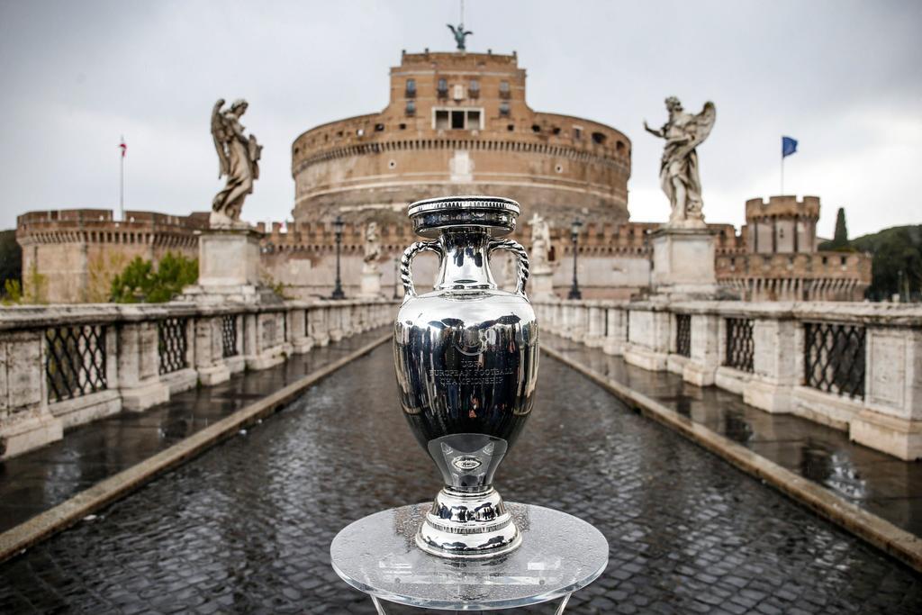 Todo listo para la inauguración de la EUROCOPA 2021 en Roma, Italia