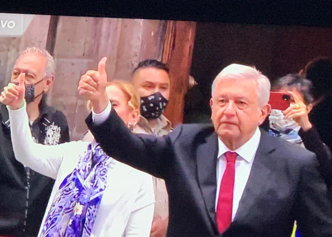 El presidente López Obrador emitió su voto