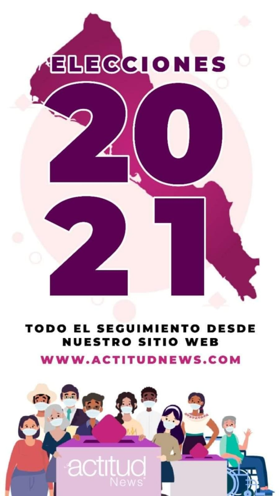 Sigue la cobertura especial de elecciones 2021 en Sinaloa