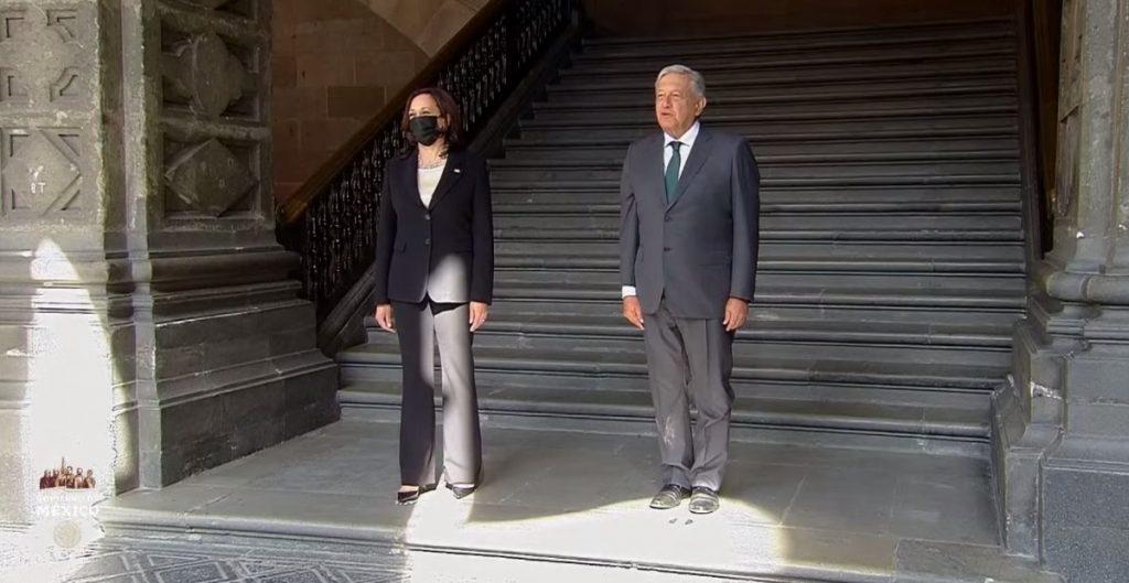 Kamala Harris, vicepresidenta de Estados Unidos, de visita en México