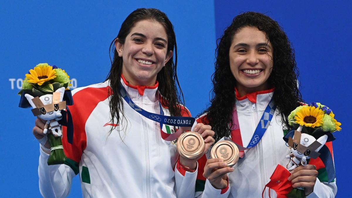 México se llevan el bronce en clavados en de los Juegos Olímpicos de Tokio 2020
