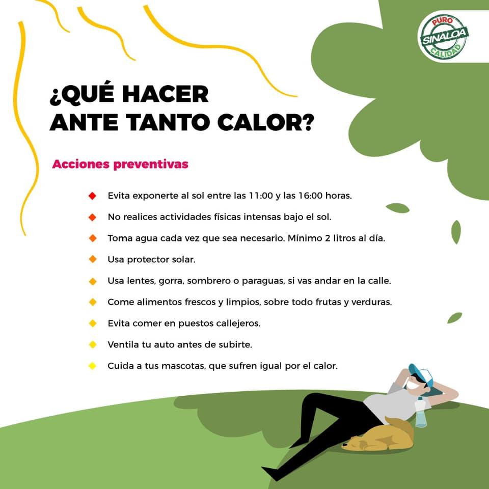 Prevención contra el calor