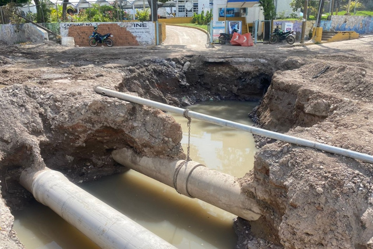 Programa JUMAPAM interconexión que afectará el suministro de agua en 33 colonias, el próximo jueves