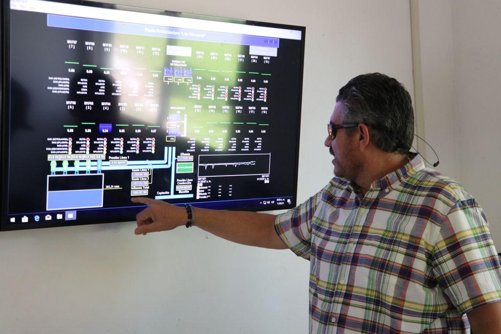 Llega producción de Los Horcones a 1,650 litros por segundo