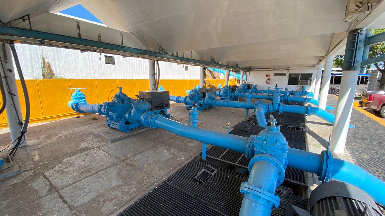 Vuelve a la normalidad el abasto de agua en Mazatlán