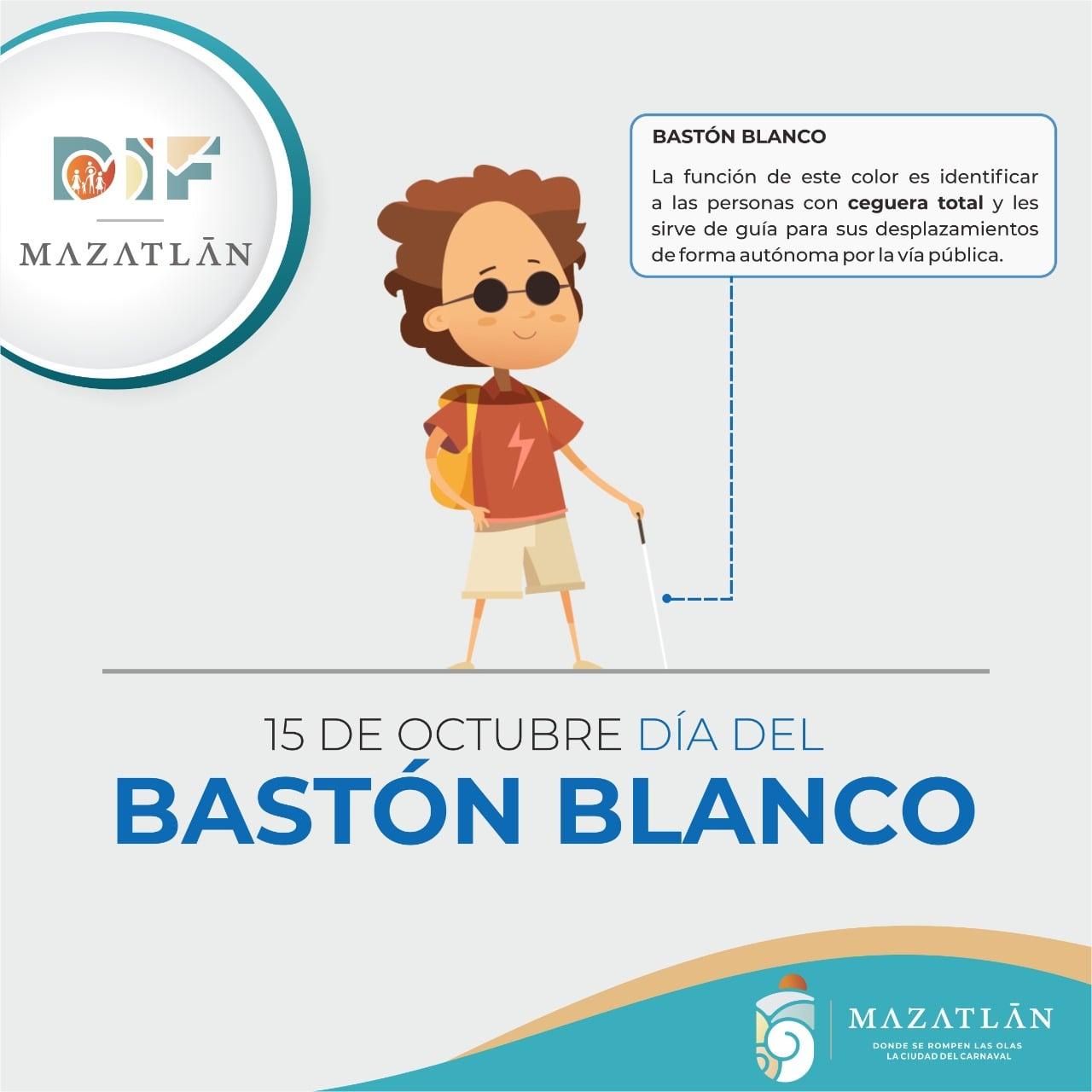 15 de octubre, Día Mundial del Bastón Blanco y Mujeres Rurales