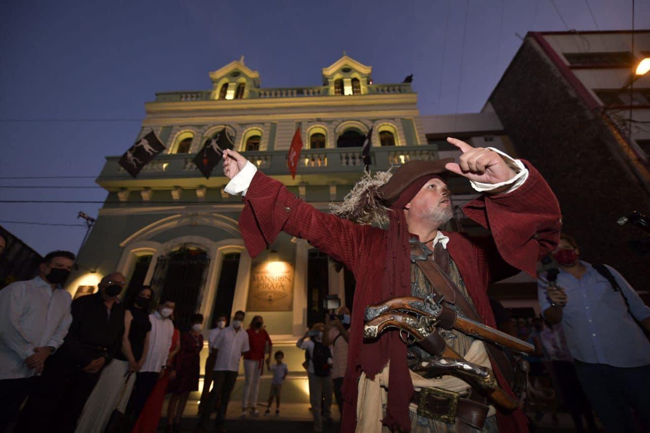 Inauguran el museo temático La Mansión Pirata en el Centro de Mazatlán
